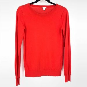BP Long Sleeve Red Crewneck Sweater